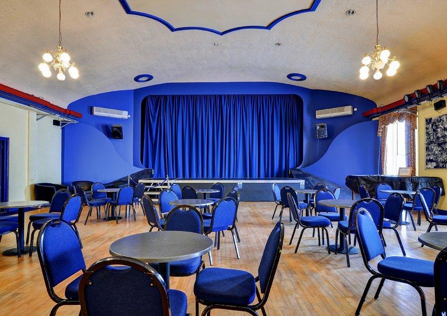 Regent Theatre Circle Lounge set out cabaret style