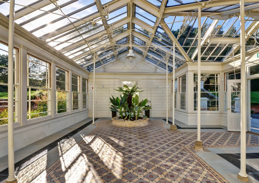 Inside picture of Holywells Orangery